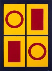 compositie met rechthoeken in kruisvorm by amédée cortier