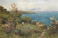 summer-time on the coast by walter stuart lloyd