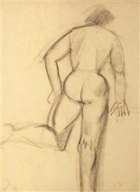 femme nue de dos by louise bourgeois