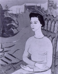 portrait of a woman by stella mertens
