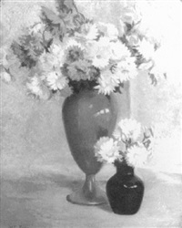 blue vases by ethel paxson