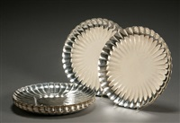 plates (set of 12) by asahi shoten (co.)