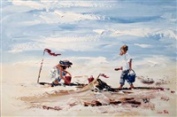 beach games by lorna miller