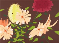 late summer flowers by alex katz