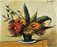 bouquet de gerboras by bernard buffet