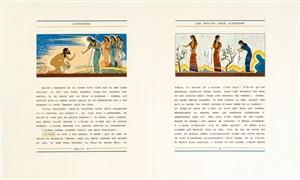 l'odyssée (bk by homère w/97 works, 4 vols) by françois louis schmied