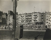 old law tenements from forsyth and east houston streets by berenice abbott