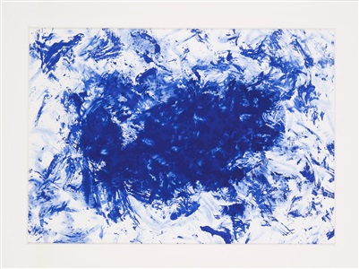 artwork by yves klein
