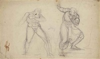 two studies of king lear by henry fuseli
