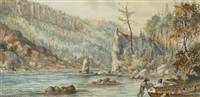 split rock portage, nepigon (sic) by william wallace armstrong