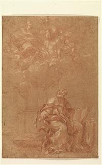 la visione di sant'ilario by guillaume courtois
