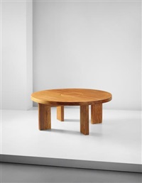 low table, from the sandoz laboratories, rueil malmaison by charlotte perriand