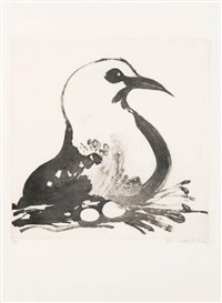 seagull by brett whiteley