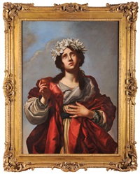 an allegory of sincerity by carlo dolci