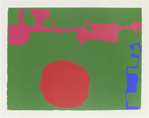 plate ii from january 1973 by patrick heron