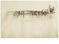 the little putney no.1 by james abbott mcneill whistler