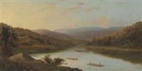 flatboat men by robert scott duncanson