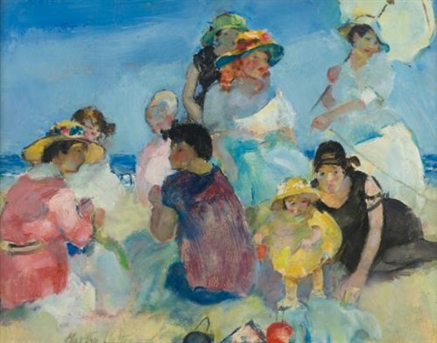 a day at the beach by martha walter