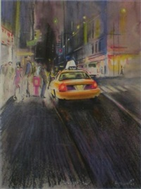 midnight taxi by daniel authouart