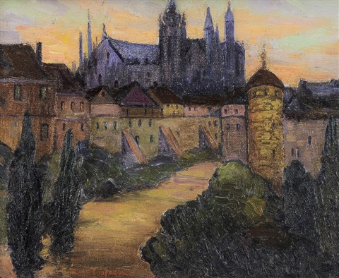 prague summer by fern isabel coppedge