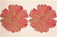 double daisy by andy warhol