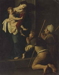 the madonna of loreto by michelangelo merisi da caravaggio