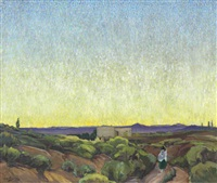 end of a perfect day by walter ufer