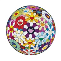flowerball sexual violet no.1 (3d by takashi murakami