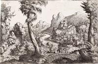 the flight into egypt by hans sebald lautensack