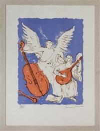 ángeles músicos by carmen parra