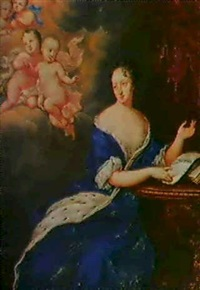portratt av ulrika eleonora by david richter the younger