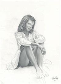 jeune fille 1 by aslan