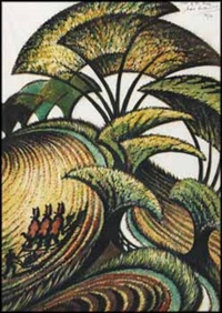 fall of the leaf by sybil andrews