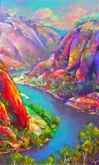 untitled landscape by joseph zago