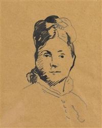 mademoiselle juliette dodu by édouard manet