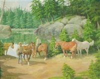 mirror lake camp by edward burns quigley