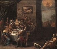 lazarus i den rige mands hus by simon kick