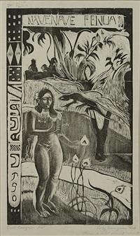 10 gravures sur bois (10 traesnit) by paul gauguin