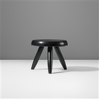 low stool by charlotte perriand