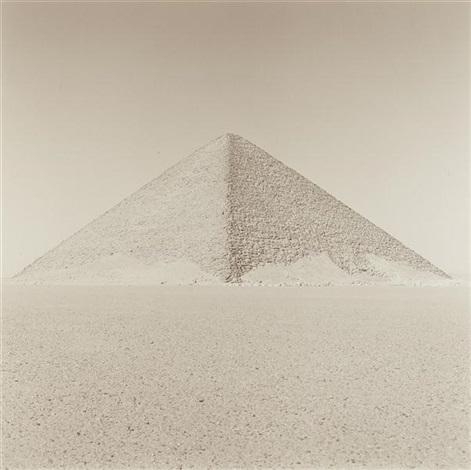red pyramid dashur cairo egypt by lynn davis