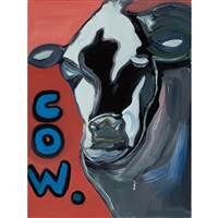 cow painting 6 by james franco