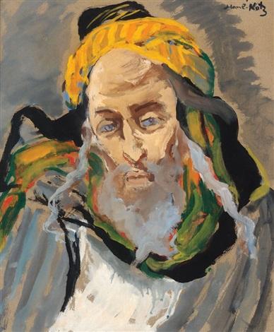 religious figure by mané katz