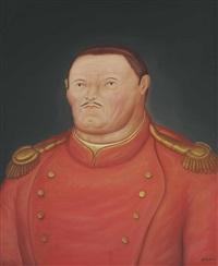 mariscal de campo by fernando botero