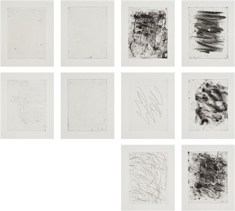 6+4 (set of 10) by christopher wool