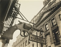 gunsmith and police department by berenice abbott