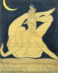 acrobat by austin osman spare