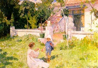 au jardin by franz van holder