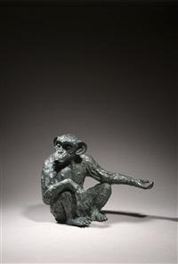en mémoire du singe de léo ferré - pepée by patrice chobriat
