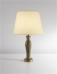 rare greek table lamp, small model by alberto giacometti