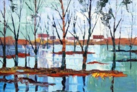paesaggio by mario berrino